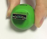 USBメモリのコネクタ