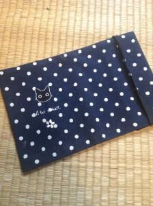 布製の文庫本カバー