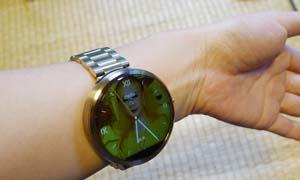 三輪さんが輝く時計