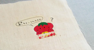 はがれたトマトマン