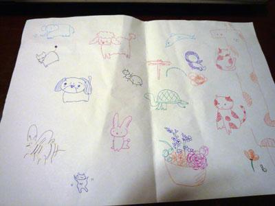 ホイ画伯の動物画