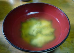 普通の味噌汁