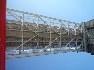 因島大橋の裏