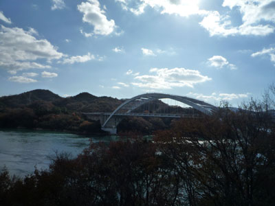 大三島橋。渋い。