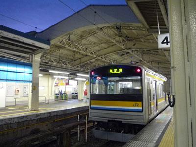 鶴見駅での鶴見線