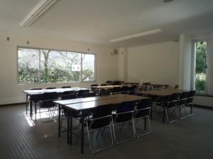 レストハウスはただの教室