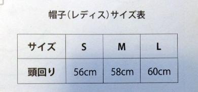 型紙のサイズ表