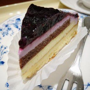 ブルベリケーキ