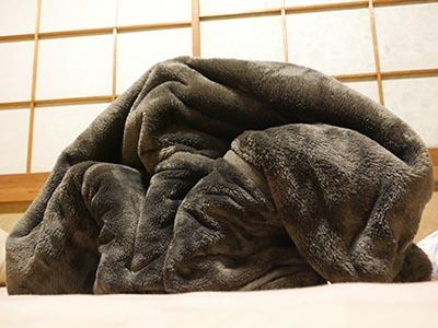 羊の飾り毛布
