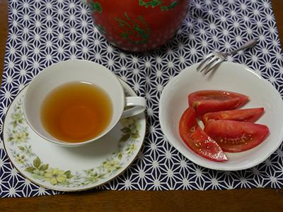 トマトと紅茶
