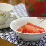 紅茶とトマト