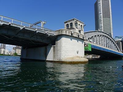 かちどき橋を裏からみるチャンス
