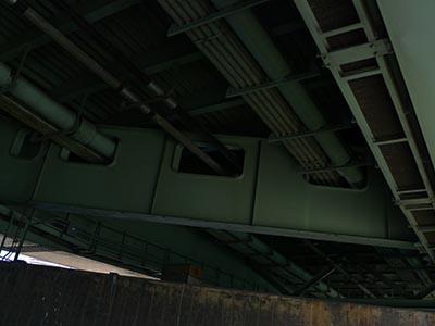 佃大橋の裏