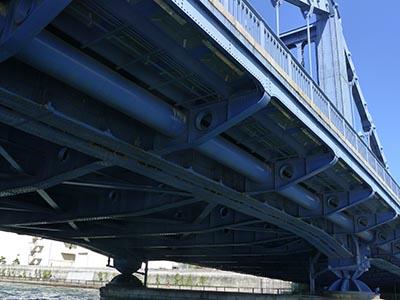 清洲橋の裏側