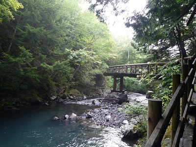 善五郎の滝周辺