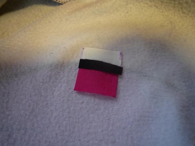 布を置いた。