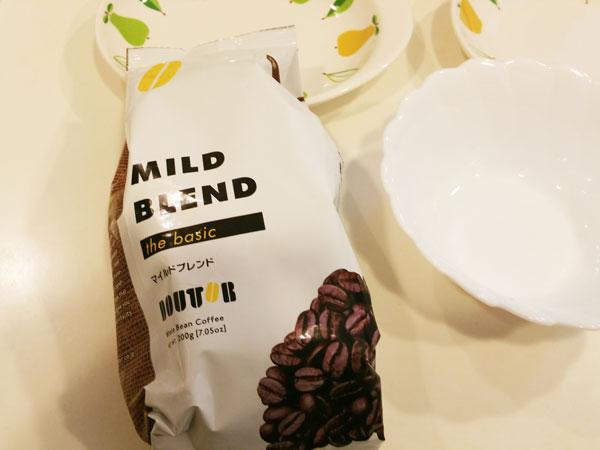 大衆喫茶店の豆