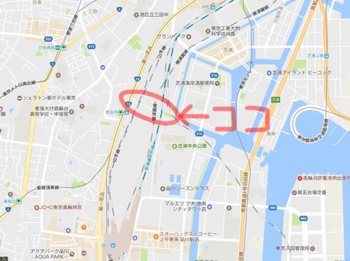 日本一低いトンネルの場所