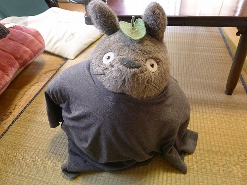 Tシャツを着たトトロ