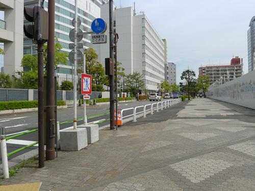 開発された歩道