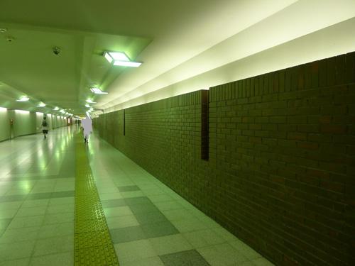 東京駅京葉線とJRの改札外通路