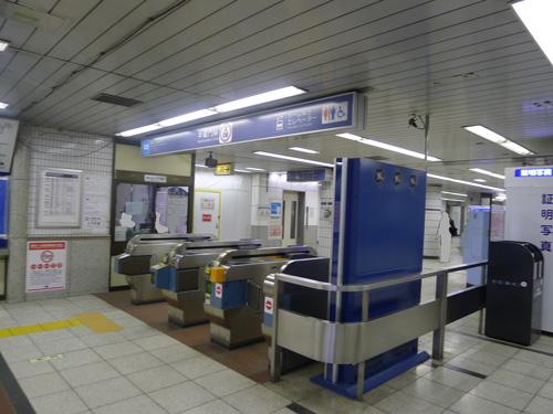 半蔵門線大手町駅