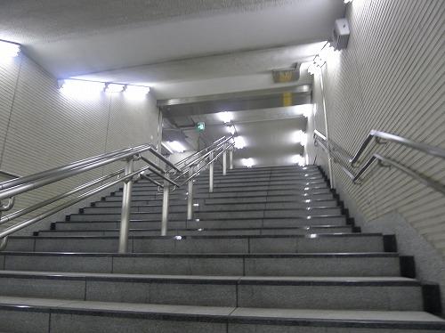 行幸ギャラリーへの階段