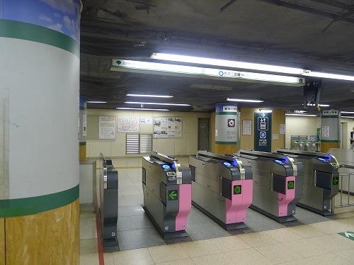 都営三田線日比谷駅