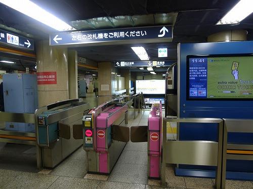銀座線銀座駅
