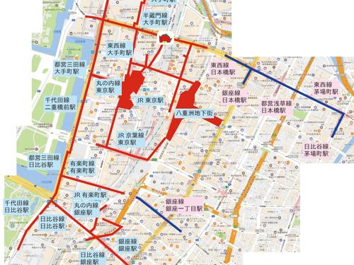 タイトル用地下道マップ