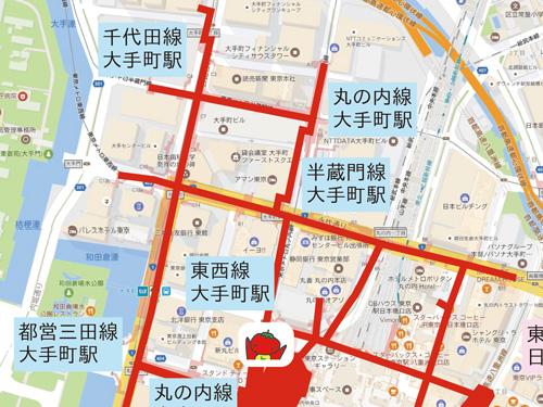 現在位置地図
