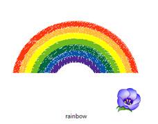 虹のデータイメージ