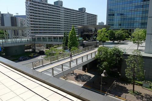 センタービル3階からのアートビレッジ大崎