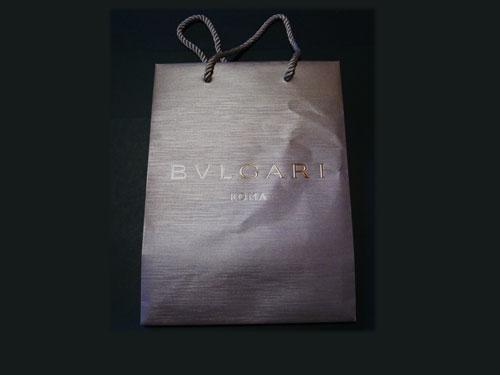 ブルガリの紙袋