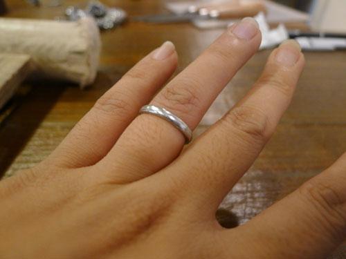 試しにはめてみた指輪