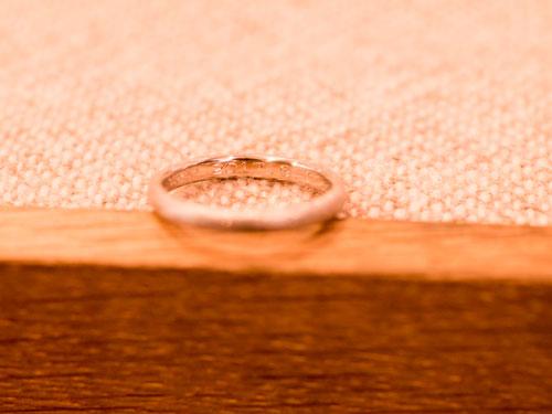 指輪の刻印