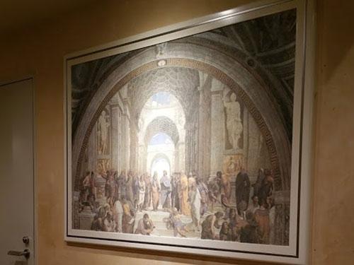 サイゼリヤの絵画