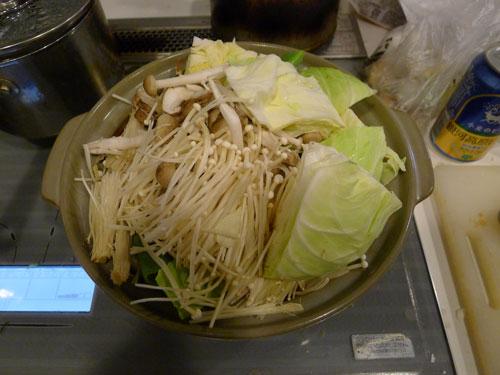 野菜入れすぎチゲ