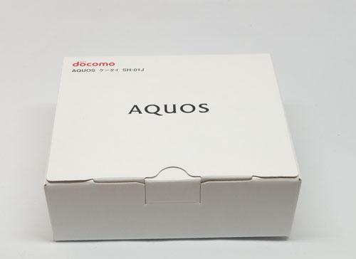 SH-01Jの箱