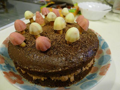 きのこケーキ