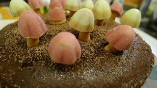 きのこチョコケーキ