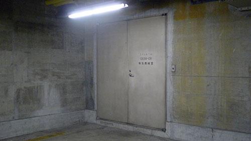 換気室ドア