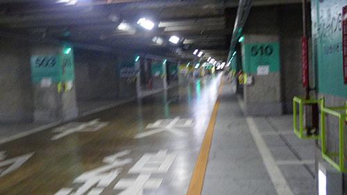 地下駐車場は怖い