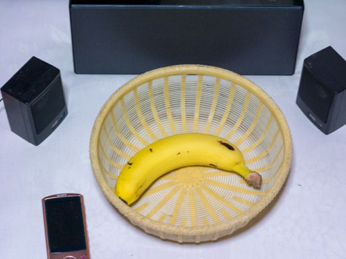 バナナにモーツァルト聞かせた