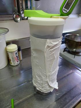冷えた後の麦茶
