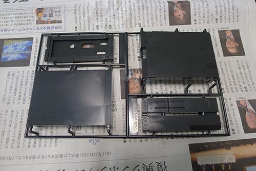 X68000プラモデル全体
