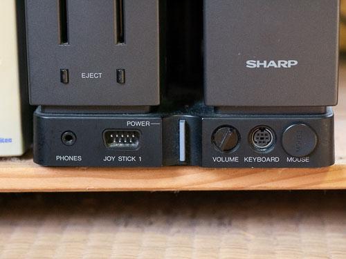 X68000電源ボタン付近