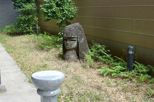増上寺のモヤイ像
