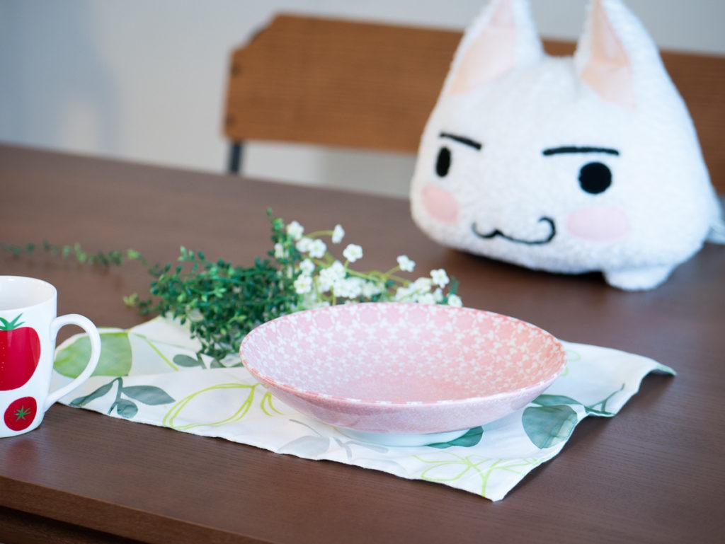 テーブルセットの写真