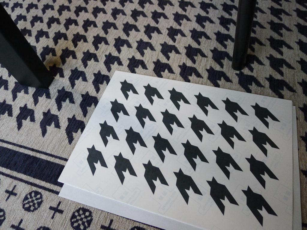印刷したアイロンプリントの用紙